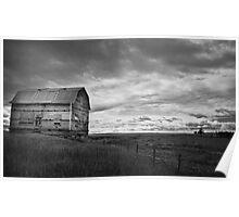 Old Milk River Barn Poster
