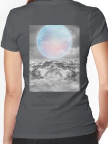 Places Neither Here Nor There (Guardian Moon) Women's Fitted V-Neck T-Shirt