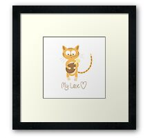 My love. Framed Print