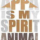 APPA IS MY SPIRIT ANIMAL by Penelope Barbalios