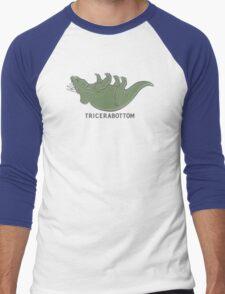 Tricerabottom Men's Baseball ¾ T-Shirt