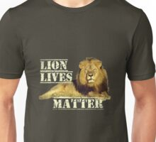 """Lion Lives Matter"" Unisex T-Shirt"