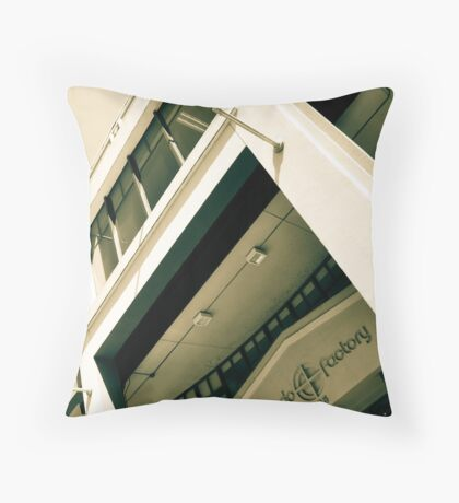 Torpedo Museum Washington DC Throw Pillow