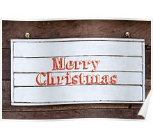Inspirational message - Merry Christmas Poster