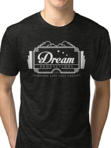 Inside Out - Dream Productions (White) Tri-blend T-Shirt