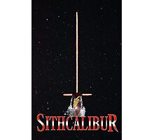 Sithcalibur Photographic Print