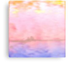 Pink Fluffy Clouds Metal Print