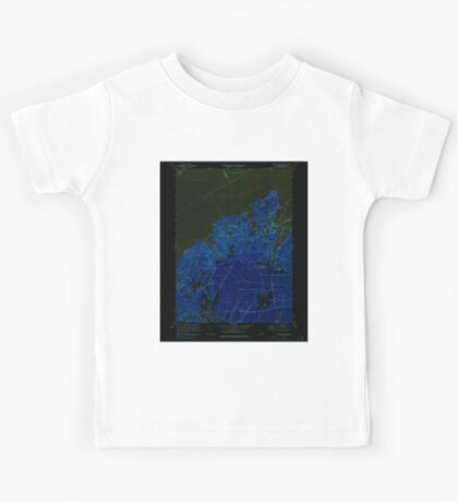 Massachusetts  USGS Historical Topo Map MA Vineyard Haven 351379 1972 25000 Inverted Kids Tee