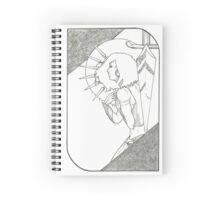 Seven of Swords - Tarot Card Spiral Notebook