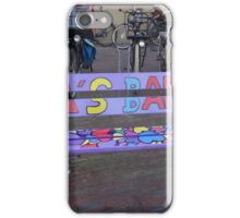 GRANDPA'S BENCH iPhone Case/Skin