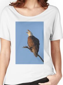 Bald Eagle at Sunset Women's Relaxed Fit T-Shirt