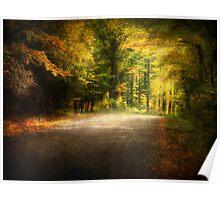 Autumn Lane • Door County Poster