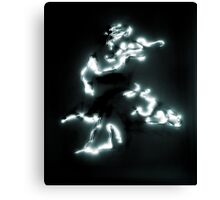 Laser Painting Canvas Print
