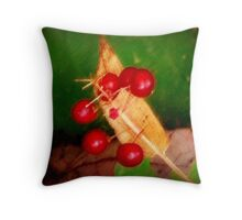 Berries for a Friend Throw Pillow