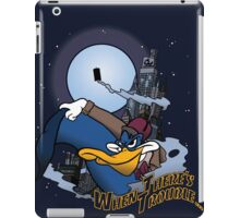 When There's Trouble iPad Case/Skin