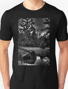 Obertraun walks 12 b&w T-Shirt