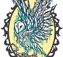 Dripping Owl - Circle by seoxys
