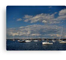 Gloucester Harbor Canvas Print