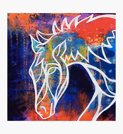 Wild at Heart 1 : Inner Power Painting Photographic Print