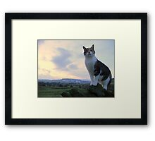 Buffy rules the world Framed Print