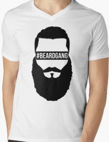 #BeardGang Full Beard Mens V-Neck T-Shirt