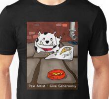 Paw Artist - Give Generously Unisex T-Shirt