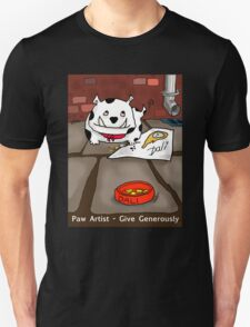 Paw Artist - Give Generously T-Shirt