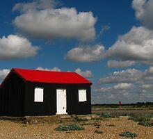 Fisherman's Hut, Rye Harbour by wiggyofipswich