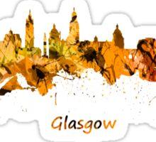 Glasgow, Scotland skyline Sticker