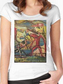 BARON Women's Fitted Scoop T-Shirt