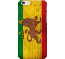 Vintage Rasta Flag iPhone Case/Skin