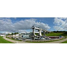Falkirk Wheel canal engineering Photographic Print