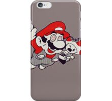 Mario Flying Mushroom iPhone Case/Skin