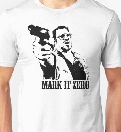 The Big Lebowski Mark It Zero T-Shirt Unisex T-Shirt