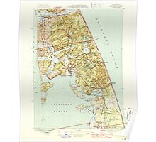 Massachusetts  USGS Historical Topo Map MA Wellfleet 352324 1944 31680 Poster