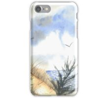 Windy Day at the Beach iPhone Case/Skin