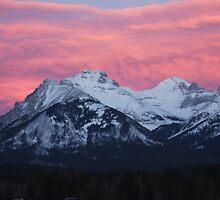 Banff Sunset by JuanchoDC