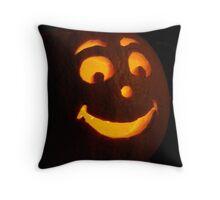 Happy Halloween -- Holiday Card Throw Pillow