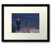 What Now Towers To The Sky Framed Print