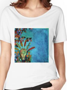 Pythagoras Among the Wolves Women's Relaxed Fit T-Shirt