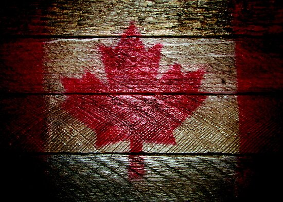 maple leaf forever by Leeanne Middleton