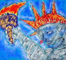 Liberty and Freedom by Manny  Peron