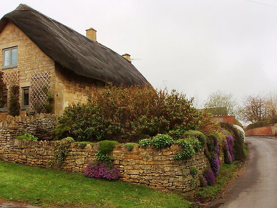 Cotswold Cottage by Randy Sprout