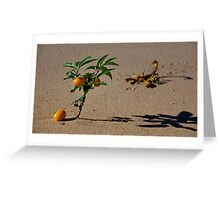 Sentinel Of The Oasis Greeting Card