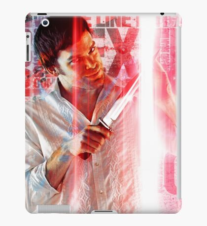 psychopath killer iPad Case/Skin