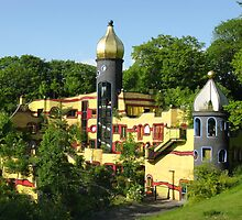Hundertwasser House by Detlef Becher