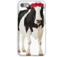 Crowned Cow iPhone Case/Skin