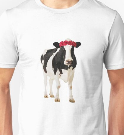 Crowned Cow Unisex T-Shirt