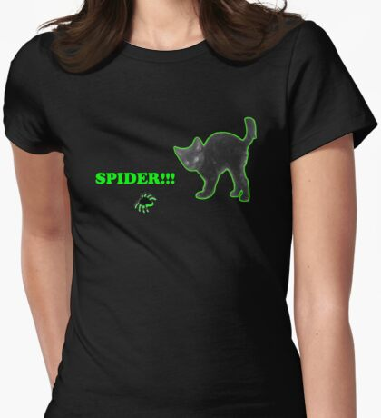 Spider!!! Womens Fitted T-Shirt