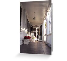 Southern Lifestyle in Charleston Greeting Card